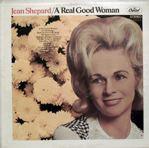 Jean Shepard. A Real Good Woman.