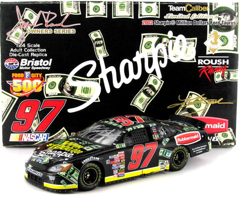 Kurt Busch #97 Sharpie Million Dollars 2002 Ford Taurus Nascar Diecast
