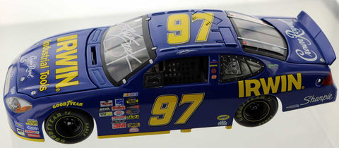 Kurt Busch. #97 2005 Irwin Tools For Taurus. Autographed.