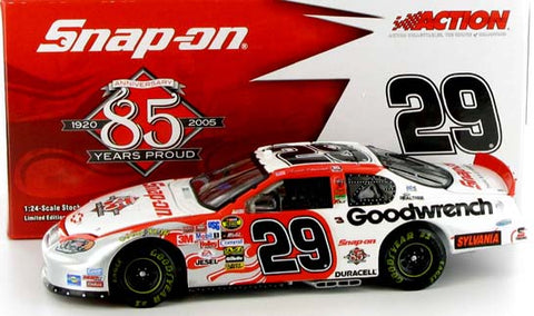 Kevin Harvick #29 Snap-On 2004 Monte Carlo Nascar Diecast