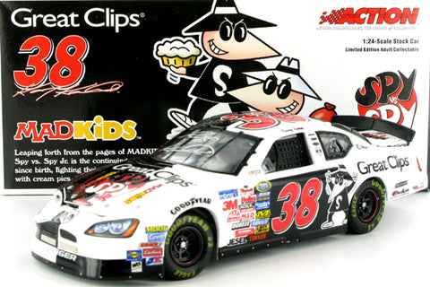 Kasey Kahne #38 Great Clips/Spy vs Spy 2005 Charger Nascar Diecast