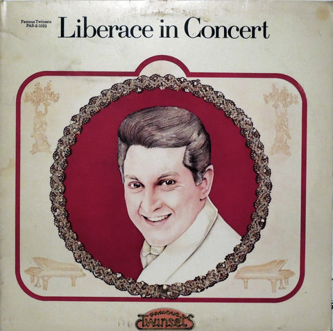 Liberace in Concert, two volume set