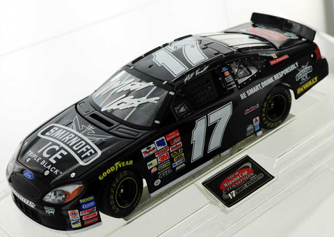 Matt Kenseth. 2003 Smirnoff Ice Triple Black Ford Taurus. Autographed
