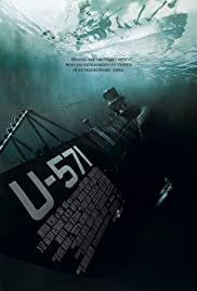 DVD.  U-571 starring Matthew McConaughey, Bill Paxton and Harvey Keitel