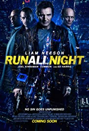 DVD. Run all Night starring Liam Neeson and Ed Harris
