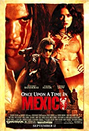 DVD. Once Upon a Time in Mexico starring Antonio Banderas, Johnny Depp, and Salma Hayak