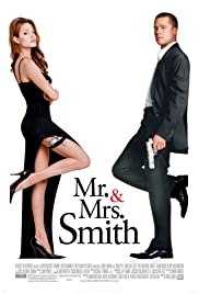 DVD. Mr. and Mrs. Smith starring Brad Pitt and Angelina Jolie