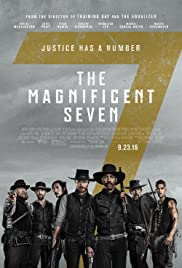 DVD-blueray . The Magnificent Seven starring Denzel Washington, Ethan Hawke,  and Chris Pratt