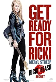 DVD. Ricki  and the Flash starring Meryl Streep, Kevin Kline, Rick Springfield, and Mamie Gummer