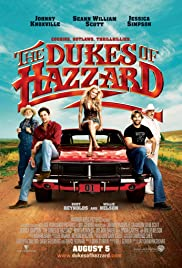 DVD. The Dukes of Hazzard starring Johnny Knoxville, Seann William Scott and Jessica Simpson