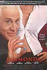 VHS Tape. Diamonds starring Kirk Douglas, Dan Aykroyd and Lauren Becall