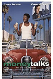 DVD. Money Talks starring Chris Tucker, Charlie Sheen and Heather Locklear