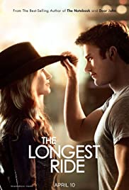 DVD (Blue-Ray). The Longest Ride starring Scott Eastwood, Brit Robertson and Alan Alda