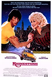 VHS Tape. Rhinestone starring Sylvester Stallone and Dolly Parton