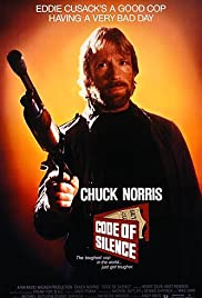 DVD. Code of Silence starring Chuck Norris