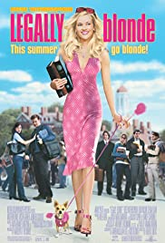 DVD. Legally Blonde starring Reese Witherspoon and Luke Wilson