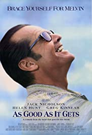 VHS Tape. As Good as It Gets starring Jack Nicholson, Helen Hunt & Greg Kinnear