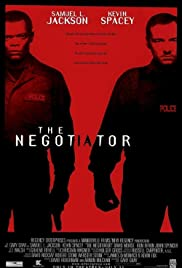 DVD. The Negotiator starring Samuel L. Jackson and Kevin Spacey