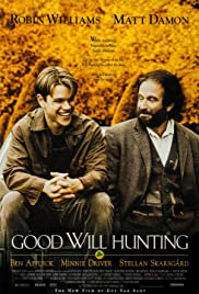 VHS Tape. Good Will Hunting starring Robin Williams, Matt Damon, and Ben Affleck