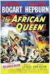 VHS Tape. The African Queen starring Katherine Hepburn and Humphrey Bogart