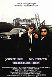 VHS Tape. The Blues Brothers starring Dan Akroyd and John Belushi