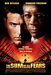 DVD. Tom Clancy's The Sum of all Fears starring Ben Affleck and Morgan Freeman
