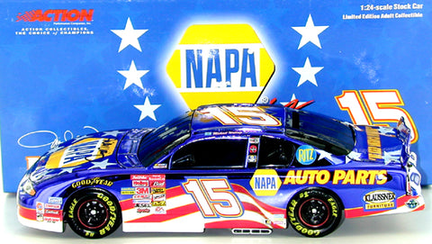 Michael Waltrip #15 Napa/Stars and Stripes 2001 Monte Carlo Nascar Diecast