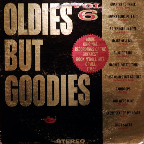 Various. Oldies But Goodies. Vol. 6