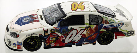 Greg Biffle. 2004 Justice League Parade Car. Autographed
