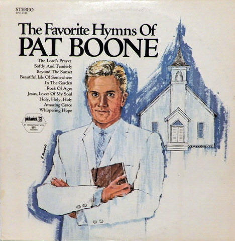 Pat Boone. The Favorite Hymns Of Pat Boone