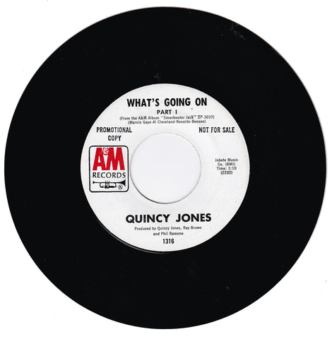 Quincy Jones. What's Going On Part 1  / What's Going On Part 2