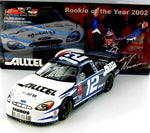 Ryan Newman #12 Alltel / Rookie of the Year 2002 Taurus Nascar Diecast