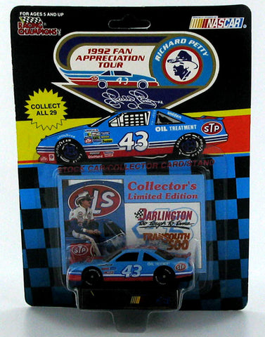 Richard Petty #43 STP Pontiac 1992 Fan Appreciation Tour Darlington Nascar Diecast