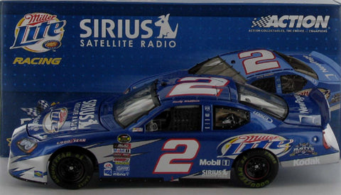 Rusty Wallace #2 Miller Lite/Sirius Satellite Radio 2005 Charger Nascar Diecast