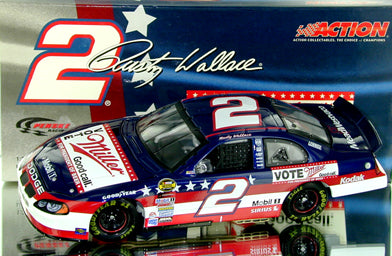 Rusty Wallace #2 Miller/Vote Miller for President of Beers 2004 Intrepid Nascar Diecast