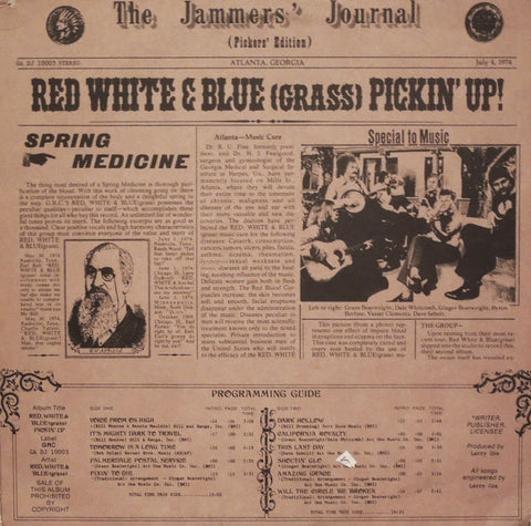 Red White & Blue (Grass). Red White & Blue (Grass) Pickin' Up