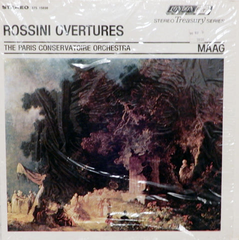 The Paris Conservatoire Orchestra. Rossini Overtures