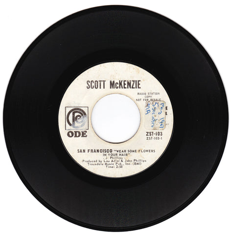 Scott McKenzie. San Francisco (Wear Some Flowers In Your Hair) / What's The Difference