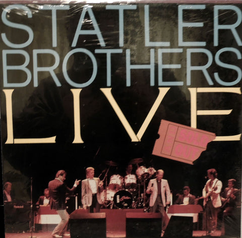 Statler Brothers. Statler Brothers Live and Sold Out