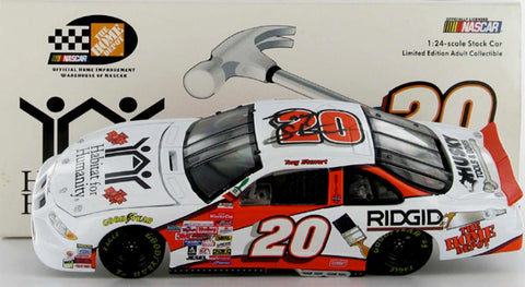 Tony Stewart #20 Home Depot / Habitat For Humanity 1999 Pontaic Nascar Diecast