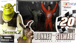 Shrek Donkey and Tony Stewart Deluxe 2 Pack