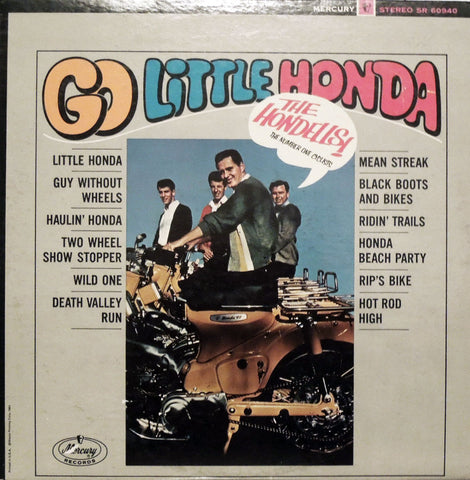 The Hondells. Go Little Honda