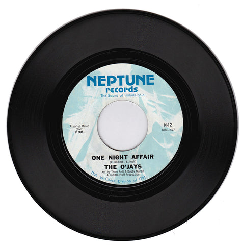 The O'Jays. One Night Affair / There's Someone