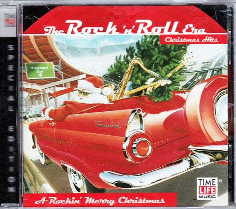 CD. The Rock 'n' Roll Era Christmas Hits. A Rockin' Merry Christmas