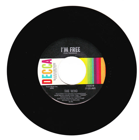 The Who. I'm Free / We're Not Gonna Take It