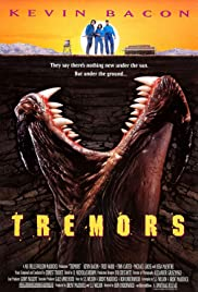 VHS Tape. Tremors starring Kevin Bacon, Fred Ward, Michael Gross and Reba McEntire