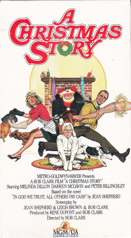 VHS. A Christmas Story Starring Melinda Dillon and Darren McGavin