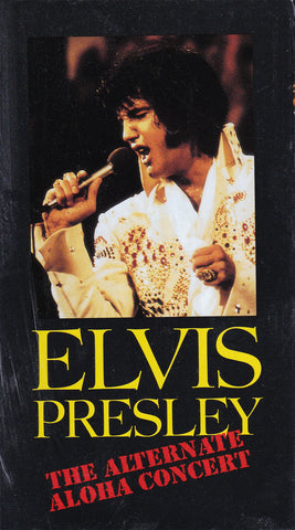 VHS. Elvis Presley The Alternative Aloha Concert