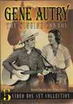 VHS. Gene Autry 5 Video Box Set Collection