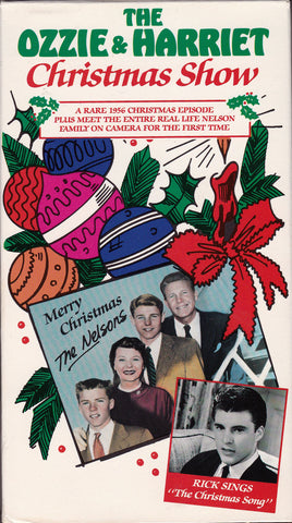 VHS. The Ozzie & Harriet Christmas Show